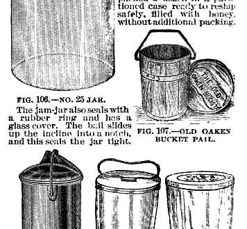 Jam Jars, Glass Jars, Tumblers, and Pails from 1894