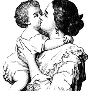 Victorian Mother and Baby Image Courtesy of OldDesignShop