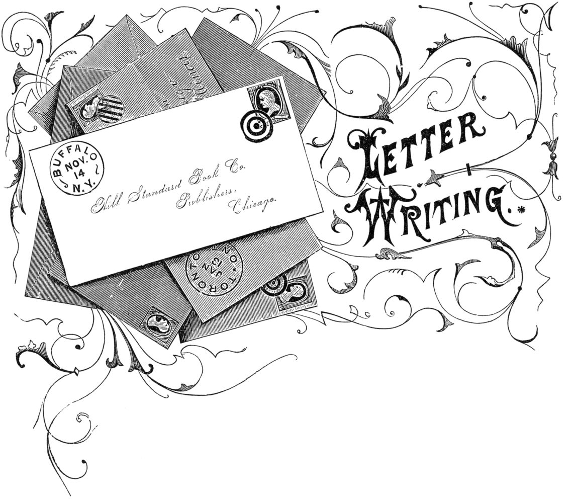 Letter Writing Image courtesy of the Graphics Fairy